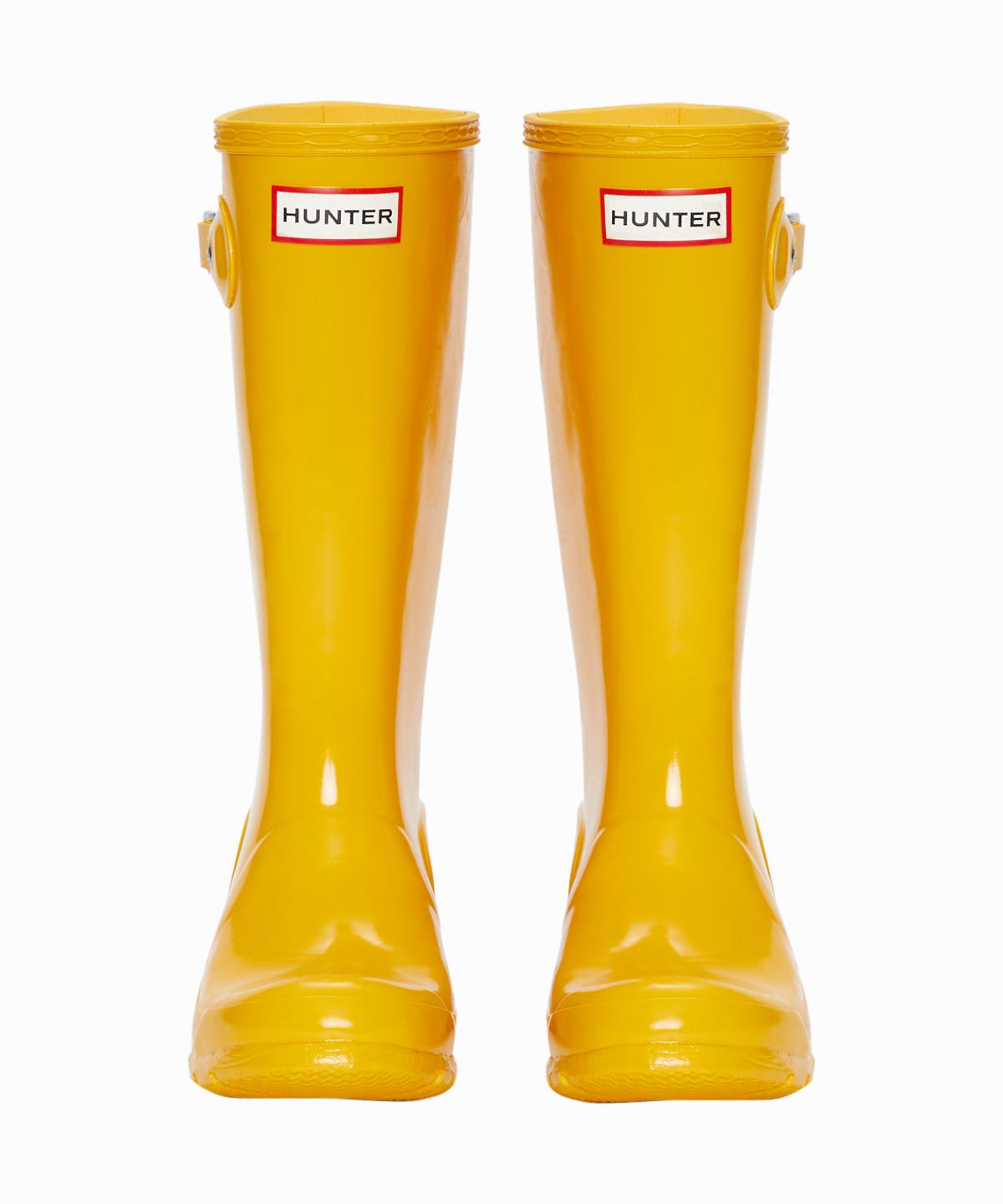 Yellow Gloss Rainboots
