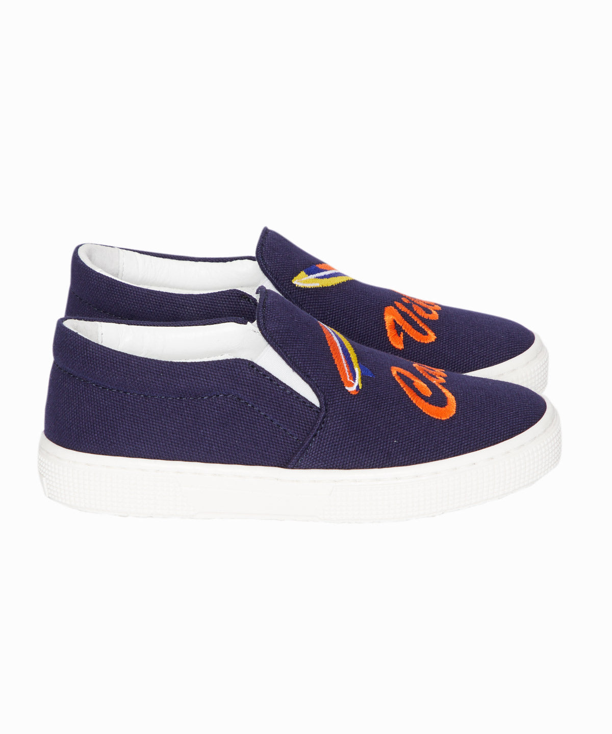 Cali Vibes Canvas Slip-On Sneakers