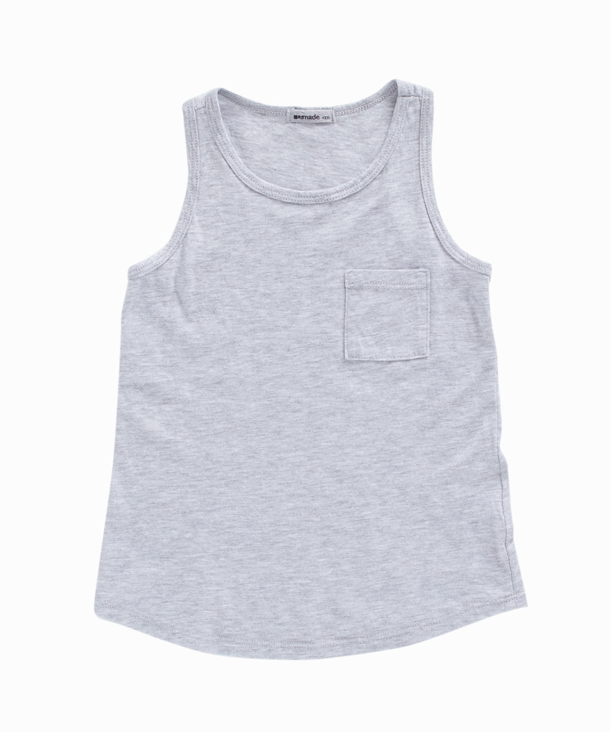 Shana Grey Pocket Tank