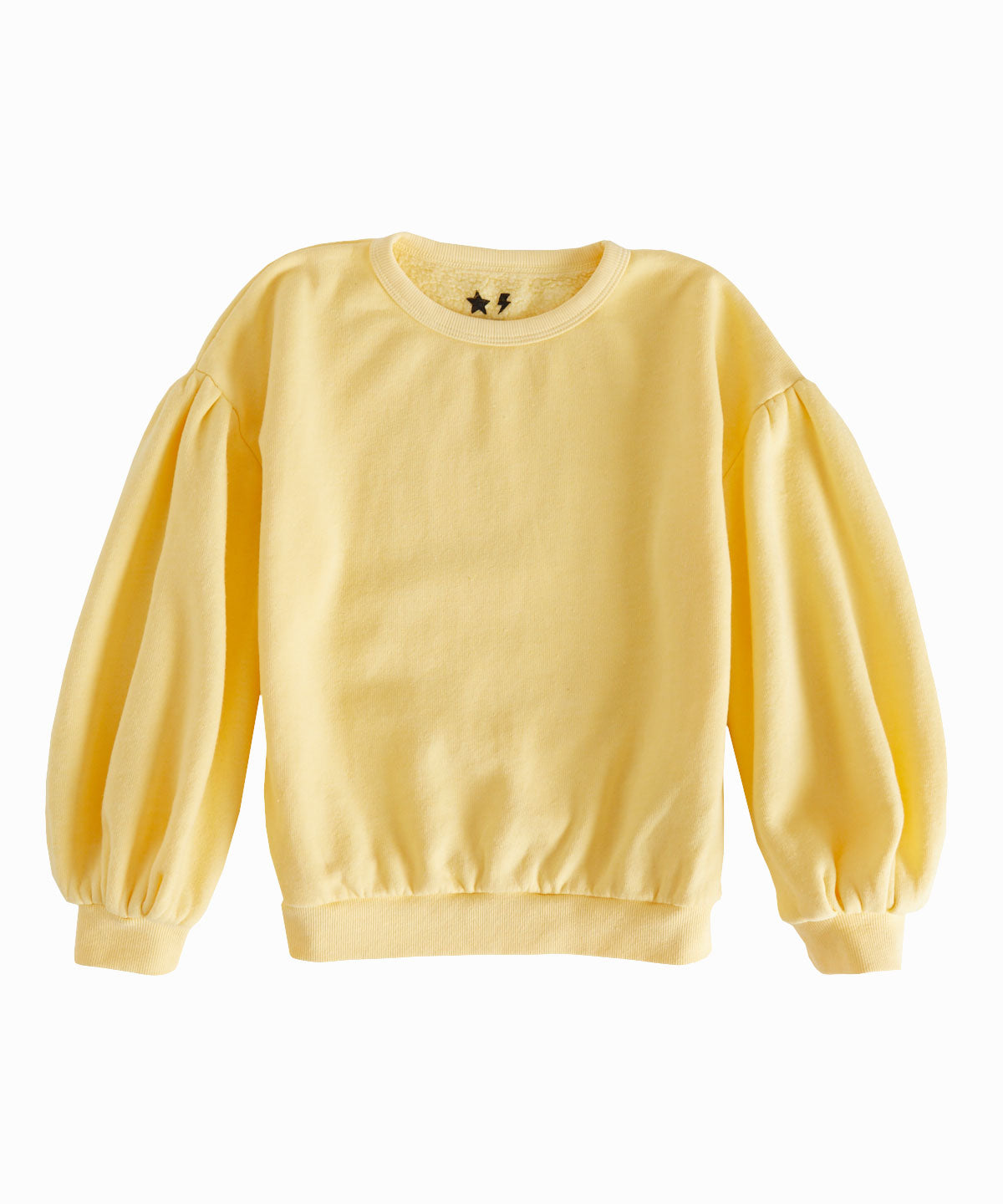 Yellow Sherpa Crewneck Sweatshirt
