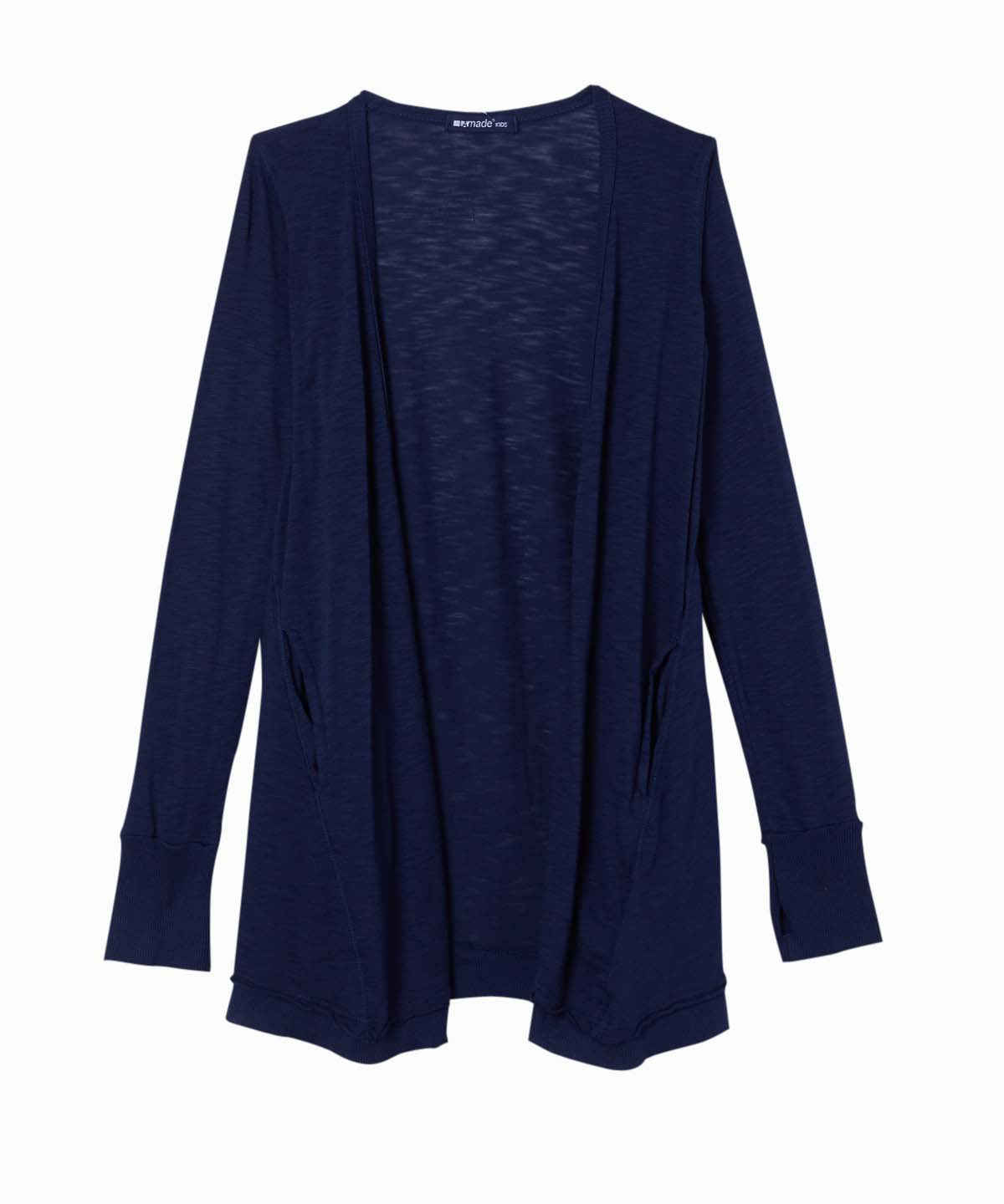 Basic Navy Cardigan