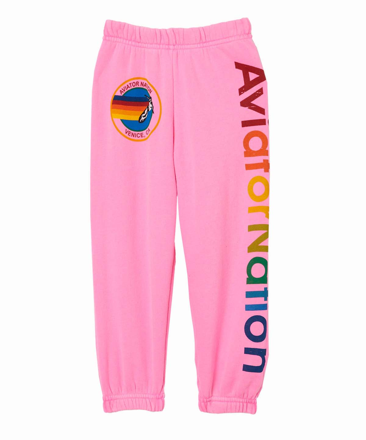 AV Logo Pink Sweatpants