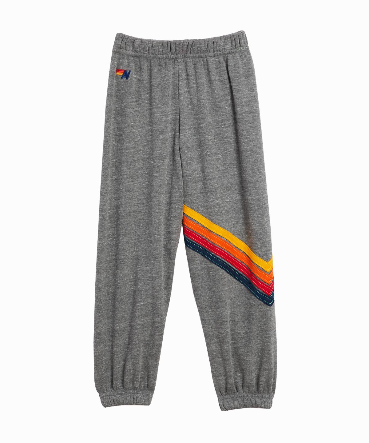 Chevron Striped Sweatpants