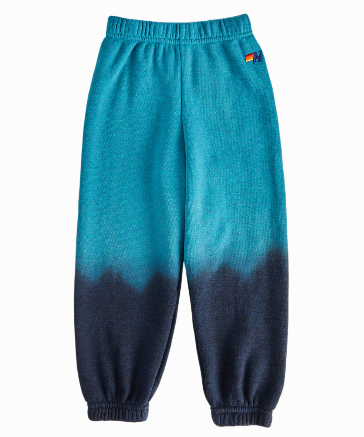 Turquoise Faded Ombre Sweatpants