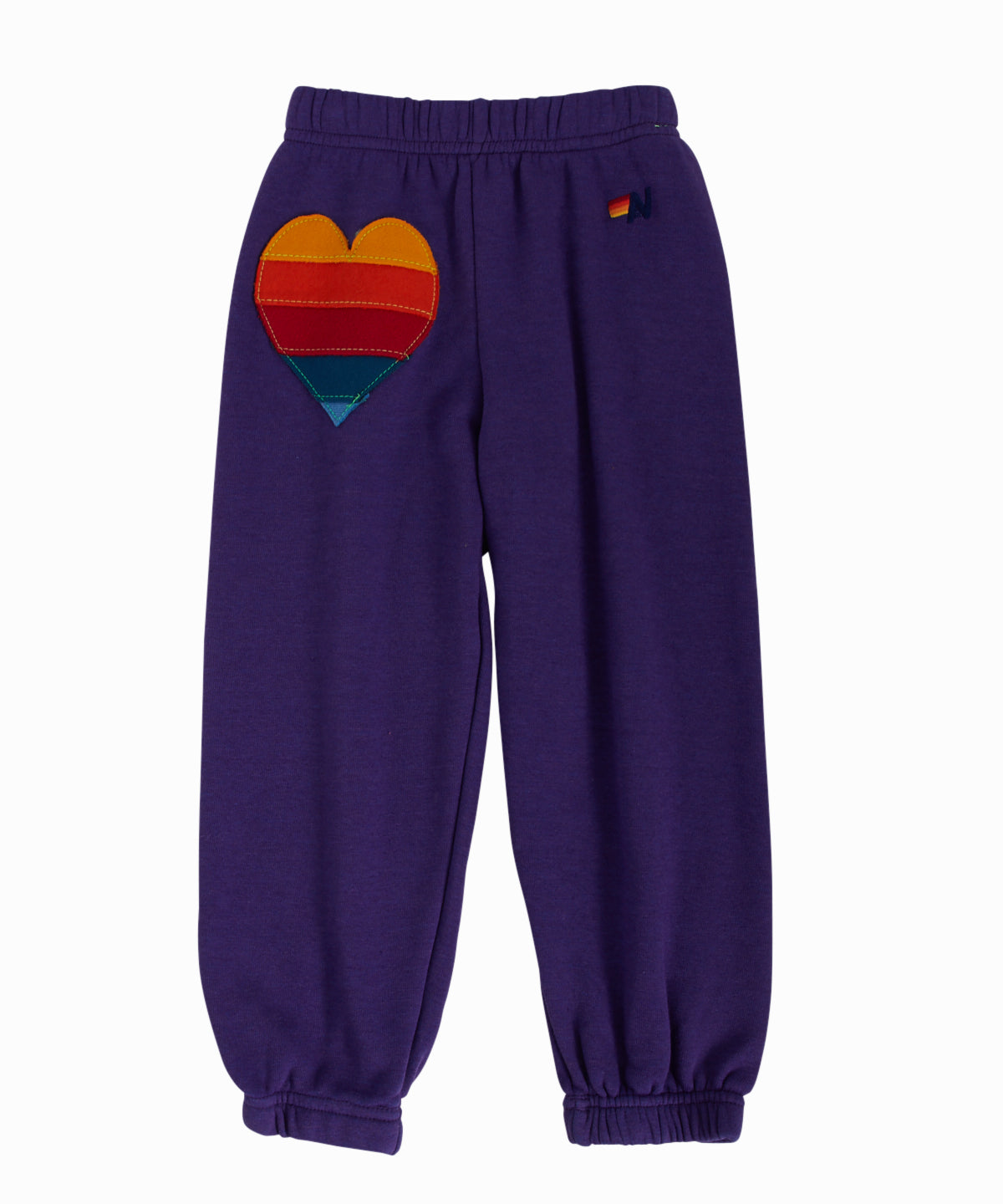 Heart Purple Sweatpants