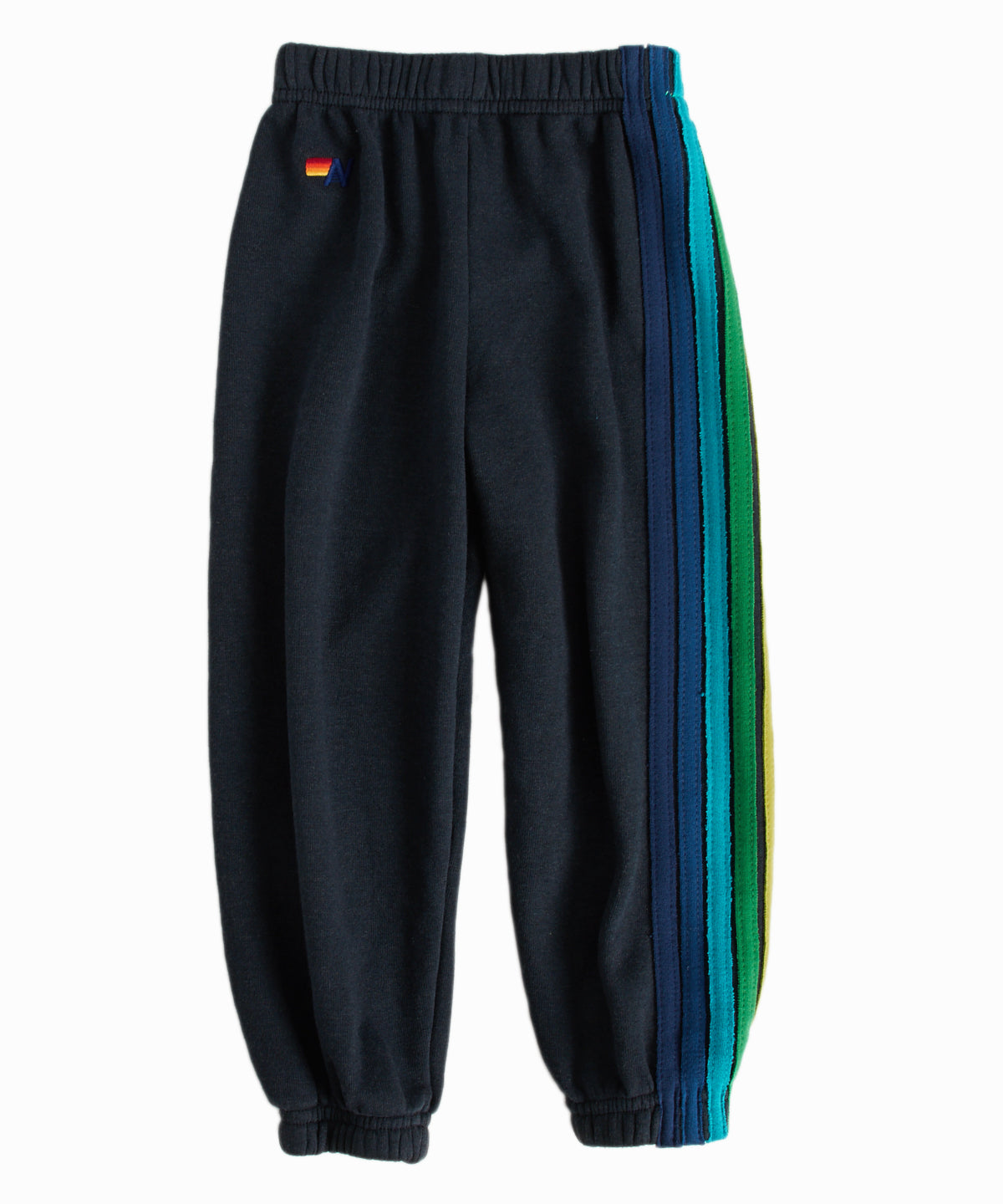 5-Stripe Grey Green Sweatpants