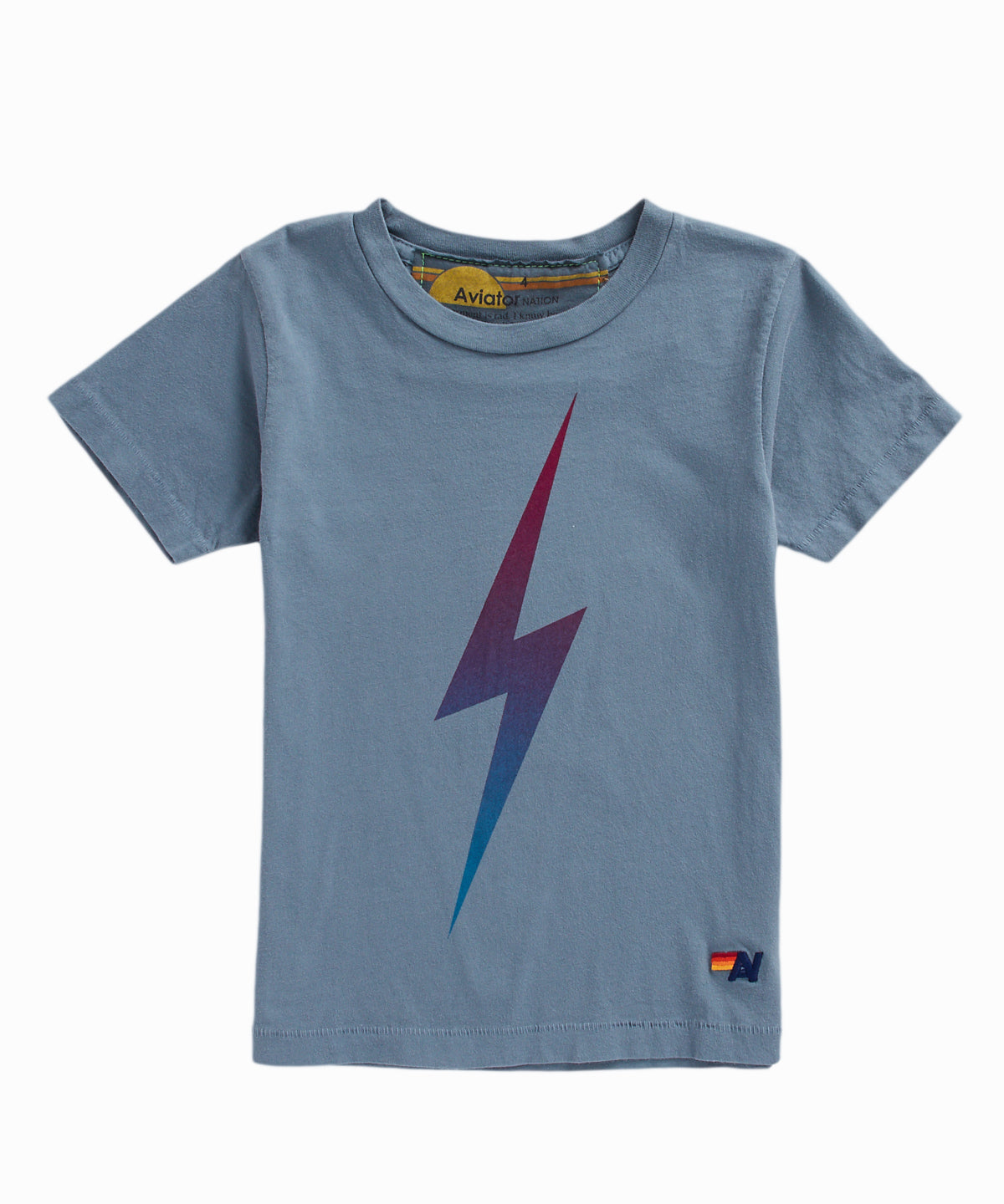 Faded Bolt Grey Tee
