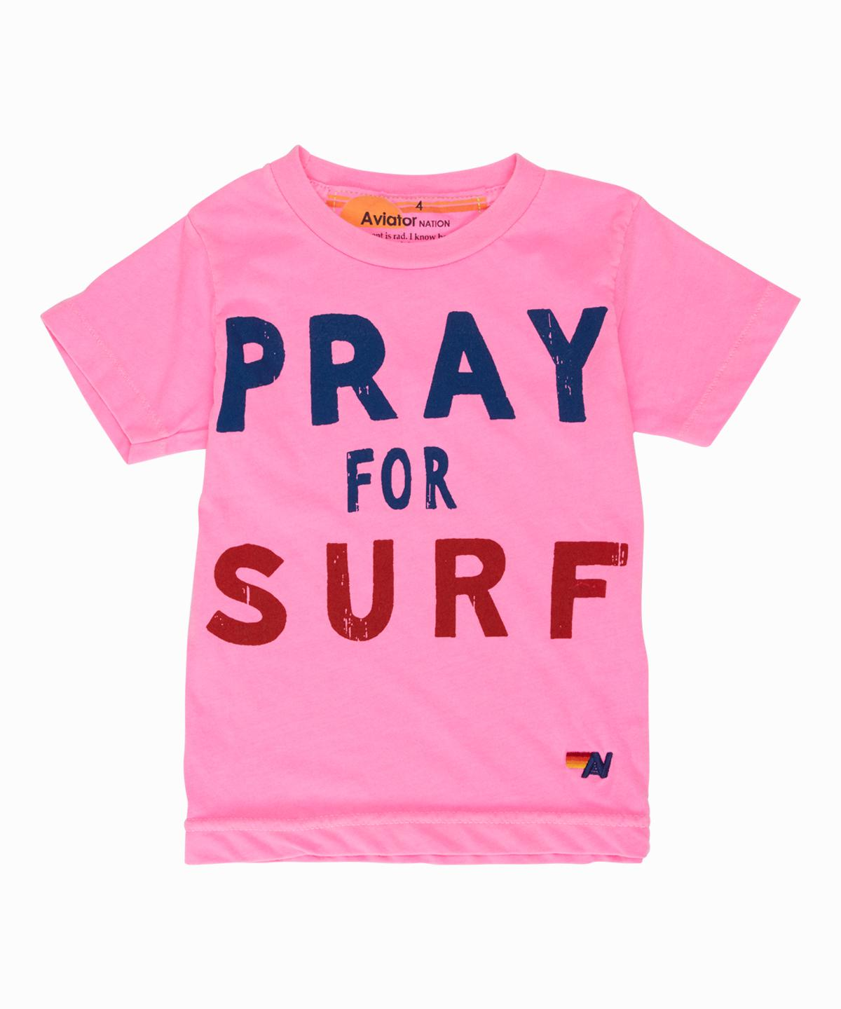 Pray For Surf Tee