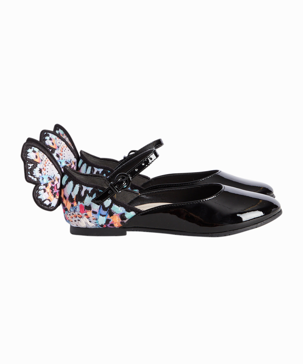 Chiara Embroidered Mary Janes