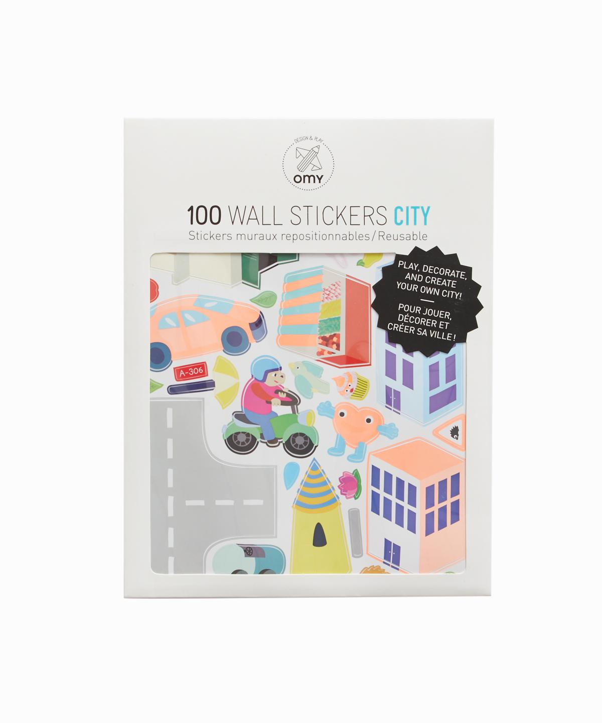 City Wall Stickers