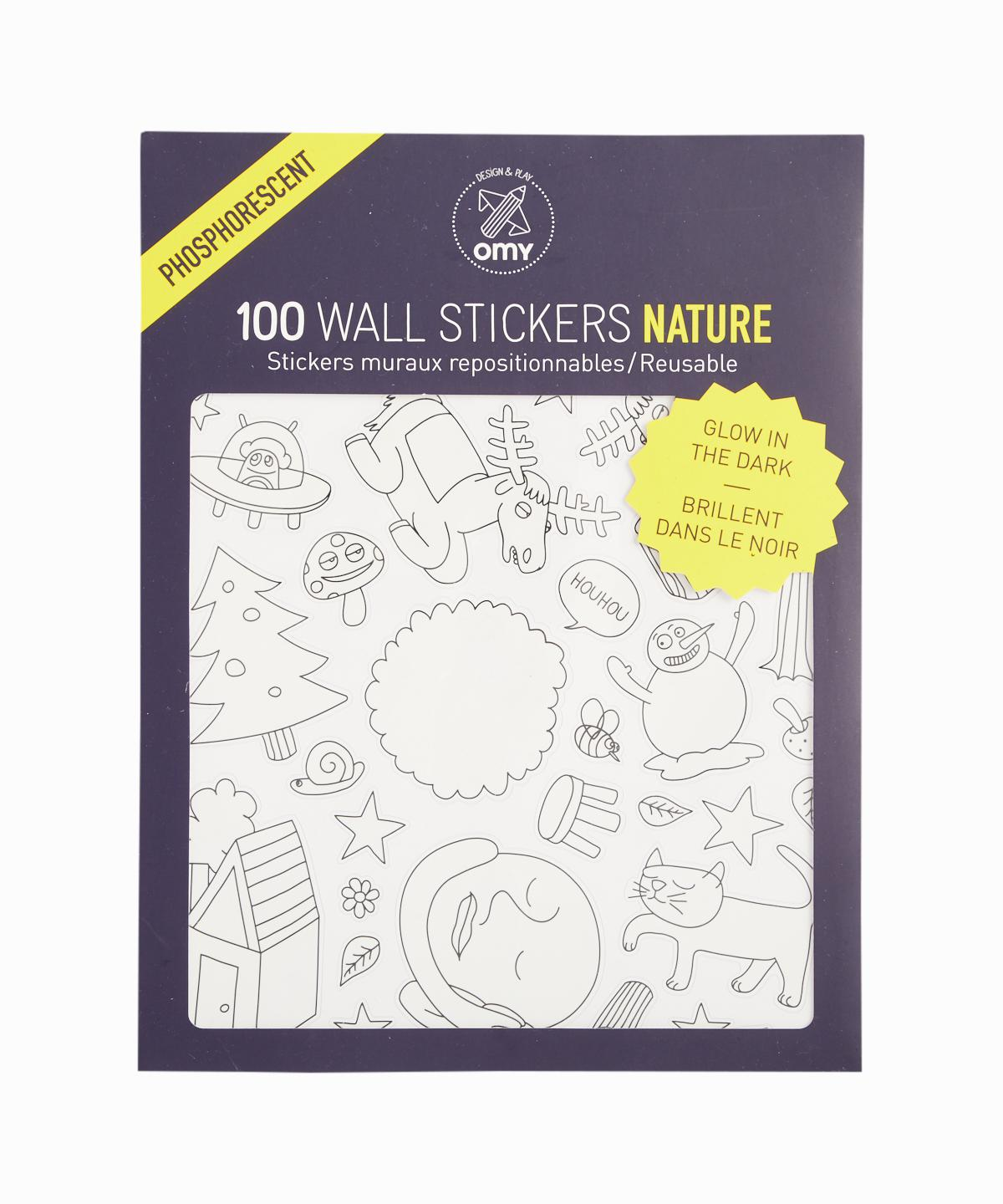Nature Glow In Dark Sticker Pack