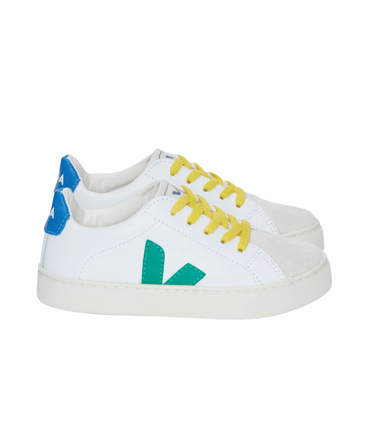 Esplar Yellow Lace-Up Sneakers