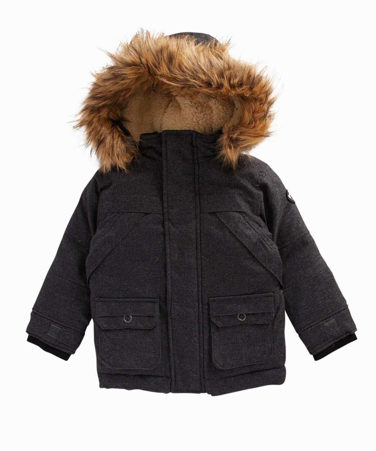 Denali Faux Fur Trim Coat