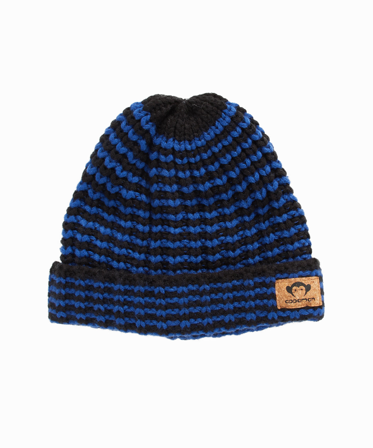 Kyle Blue Stripe Knit Hat