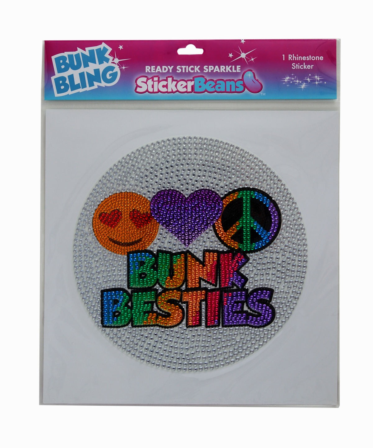Rhinestone Bunk Besties XL Wall Sticker