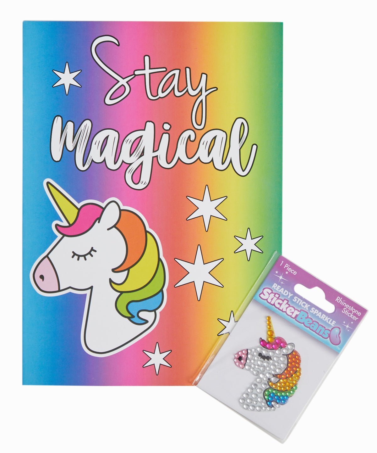 Stay Magical Card and Sticker