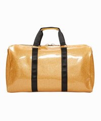 Exclusive Gold Glitter Duffle Bag
