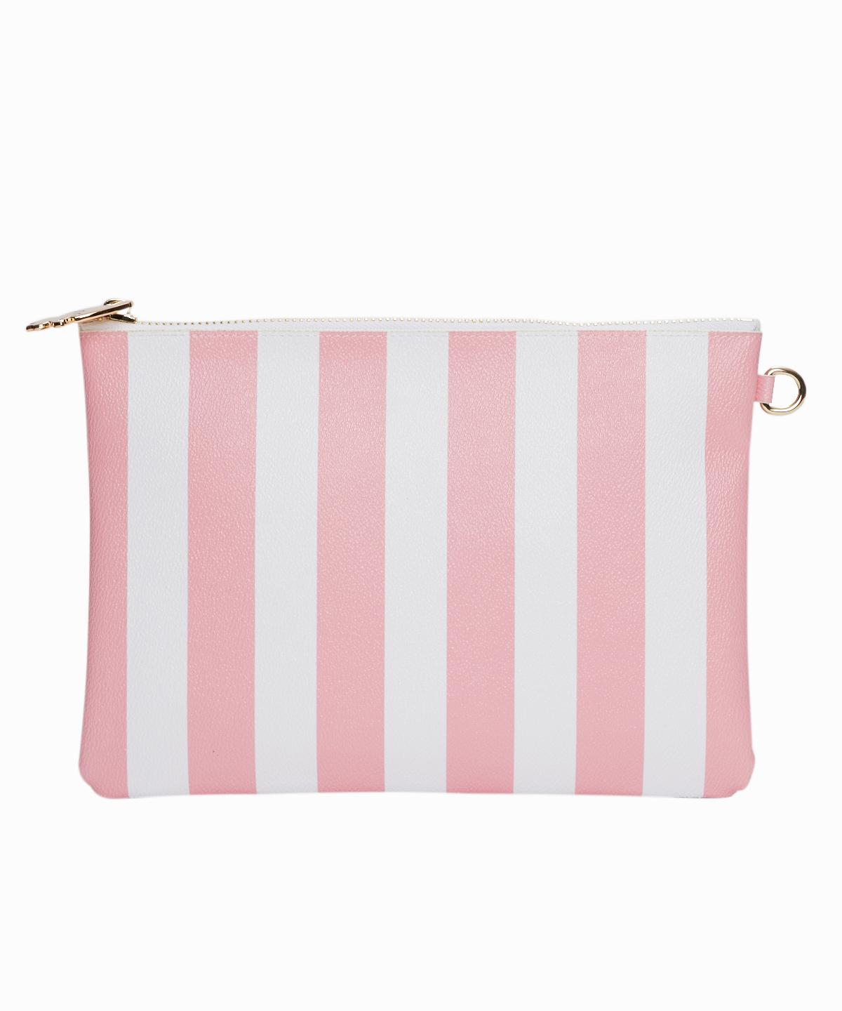 Pink Stripes Pouch