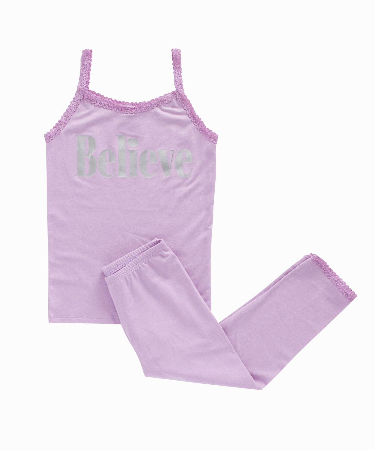 Believe Cami/Leggings Pajama Set