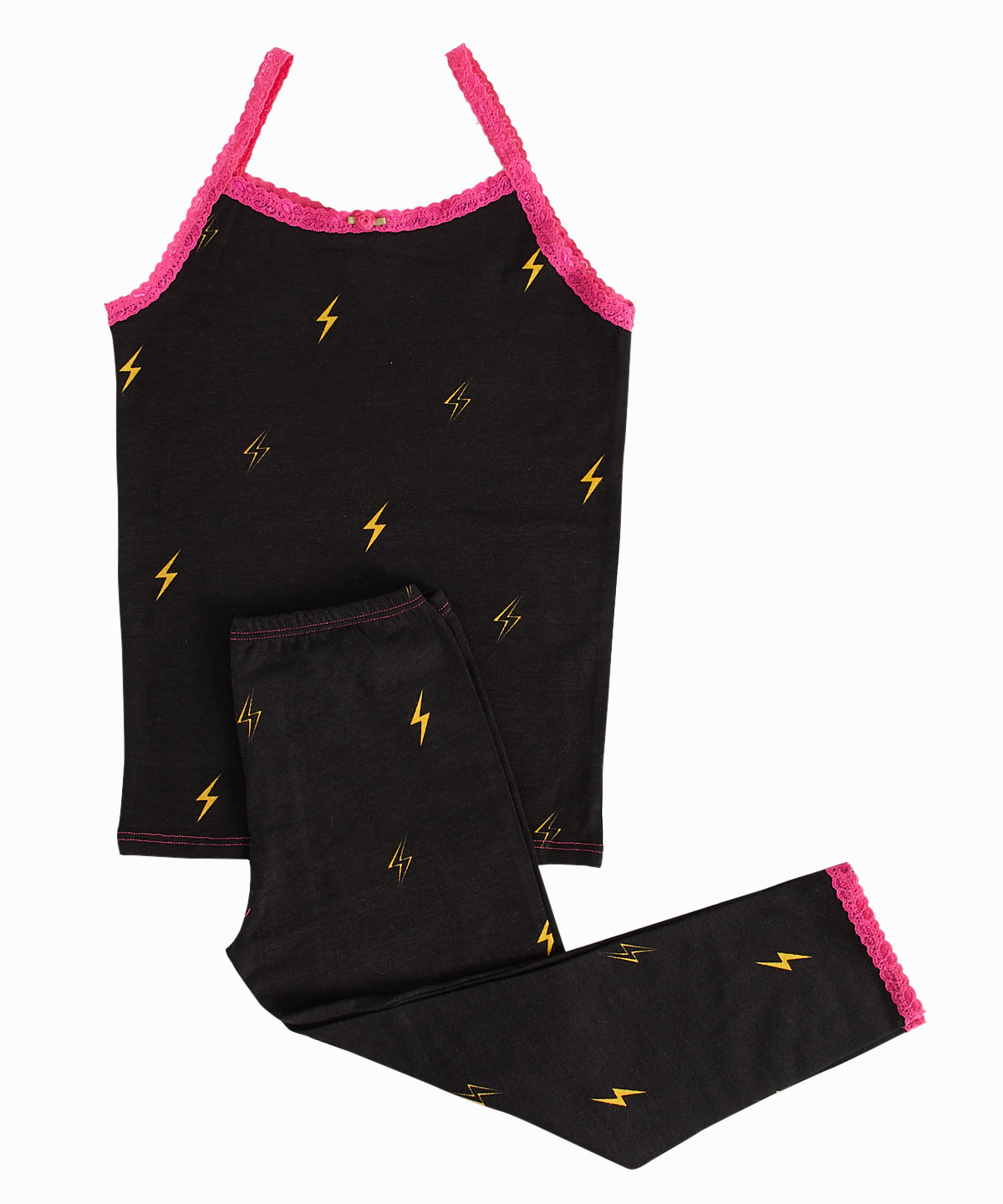 Lightning Bolt Cami/Leggings Pajama Set