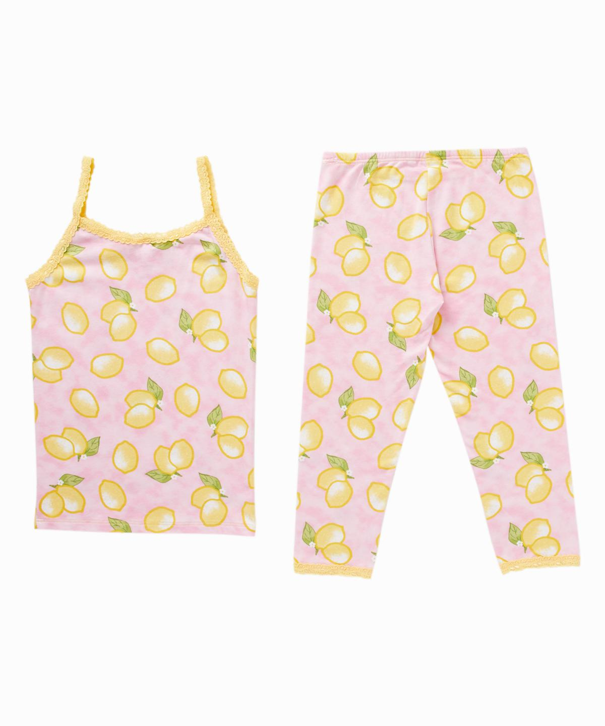 Lemon Print Cami/Leggings Pajama Set