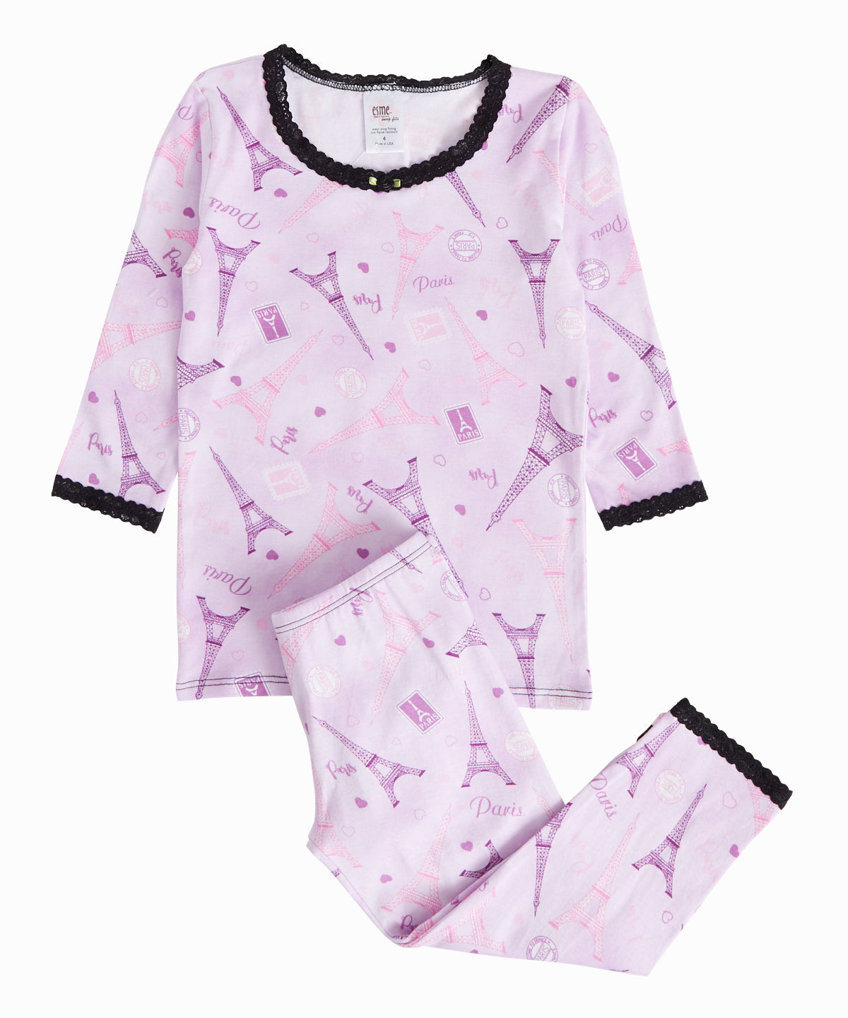 Paris Pajama Set