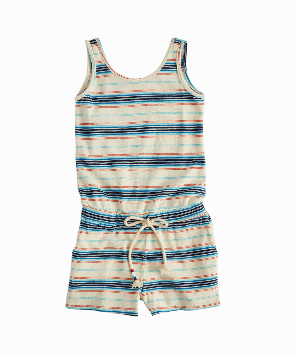 Striped Tank Romper