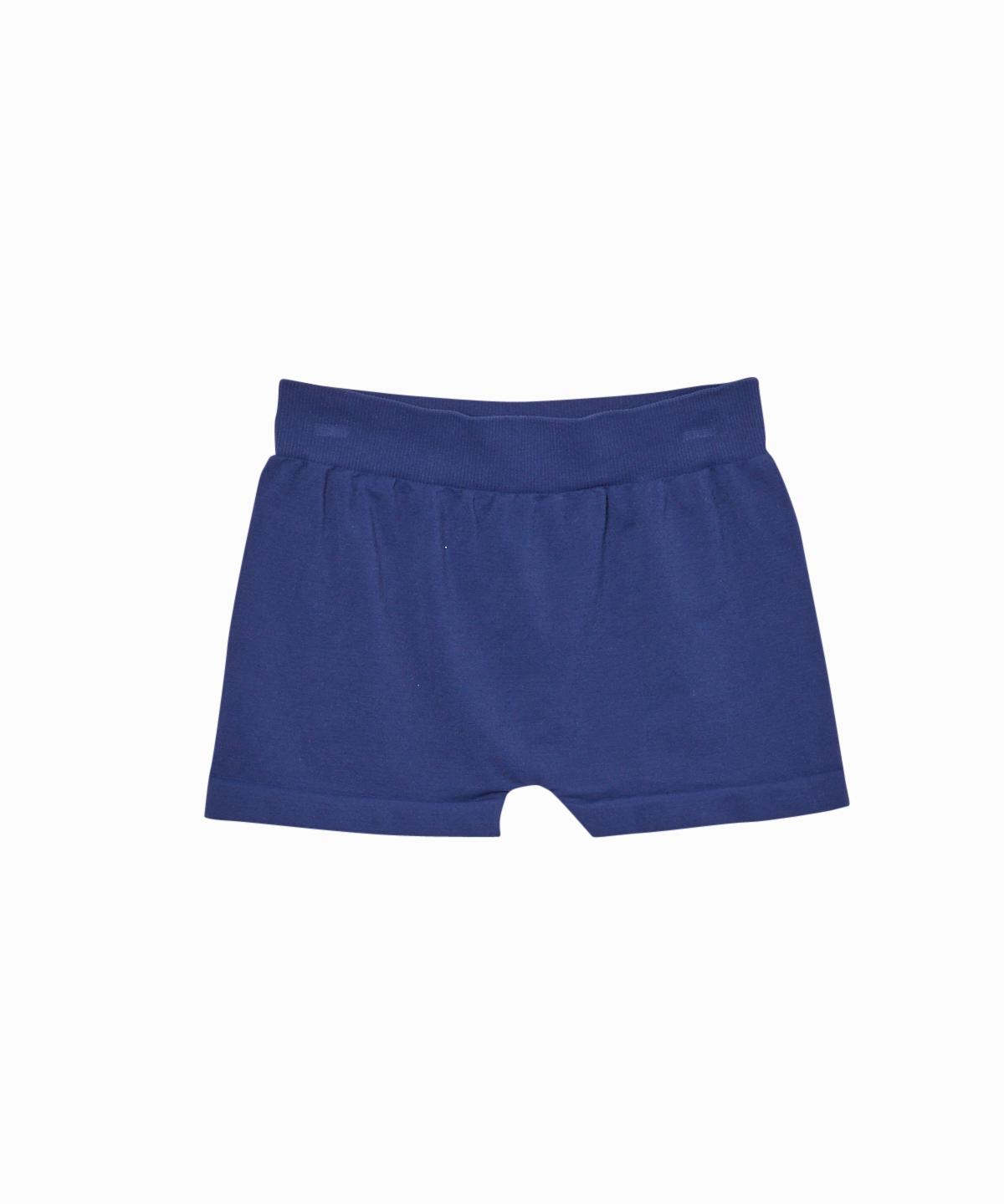 Exclusive Solid Navy Boy Shorts