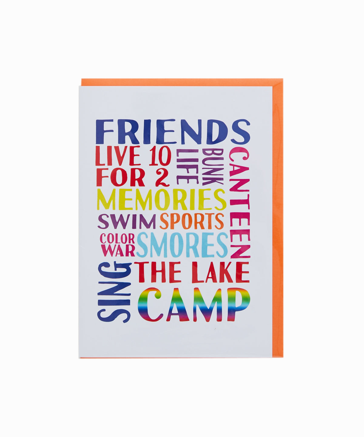 Camp Friends Greeting Card