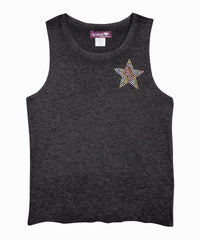 Exclusive Black Star and Bolt Tank