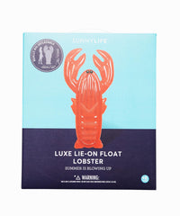 Luxe Lobster Pool Float