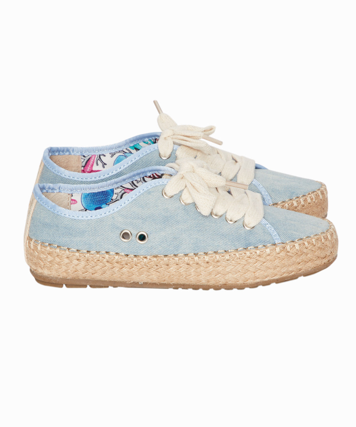 Agonis Light Denim Espadrille Sneakers