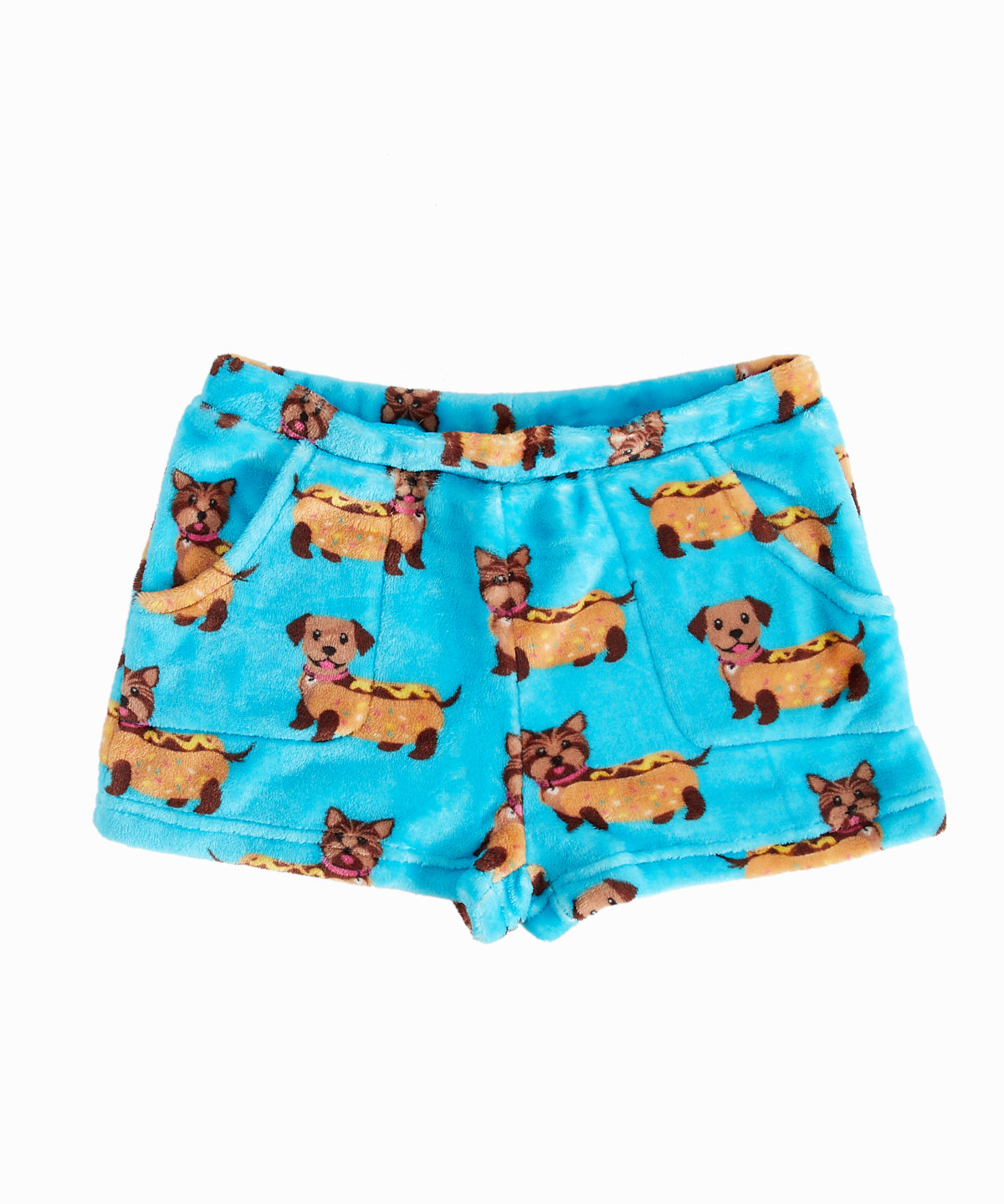 Hot Dogs Pajama Shorts