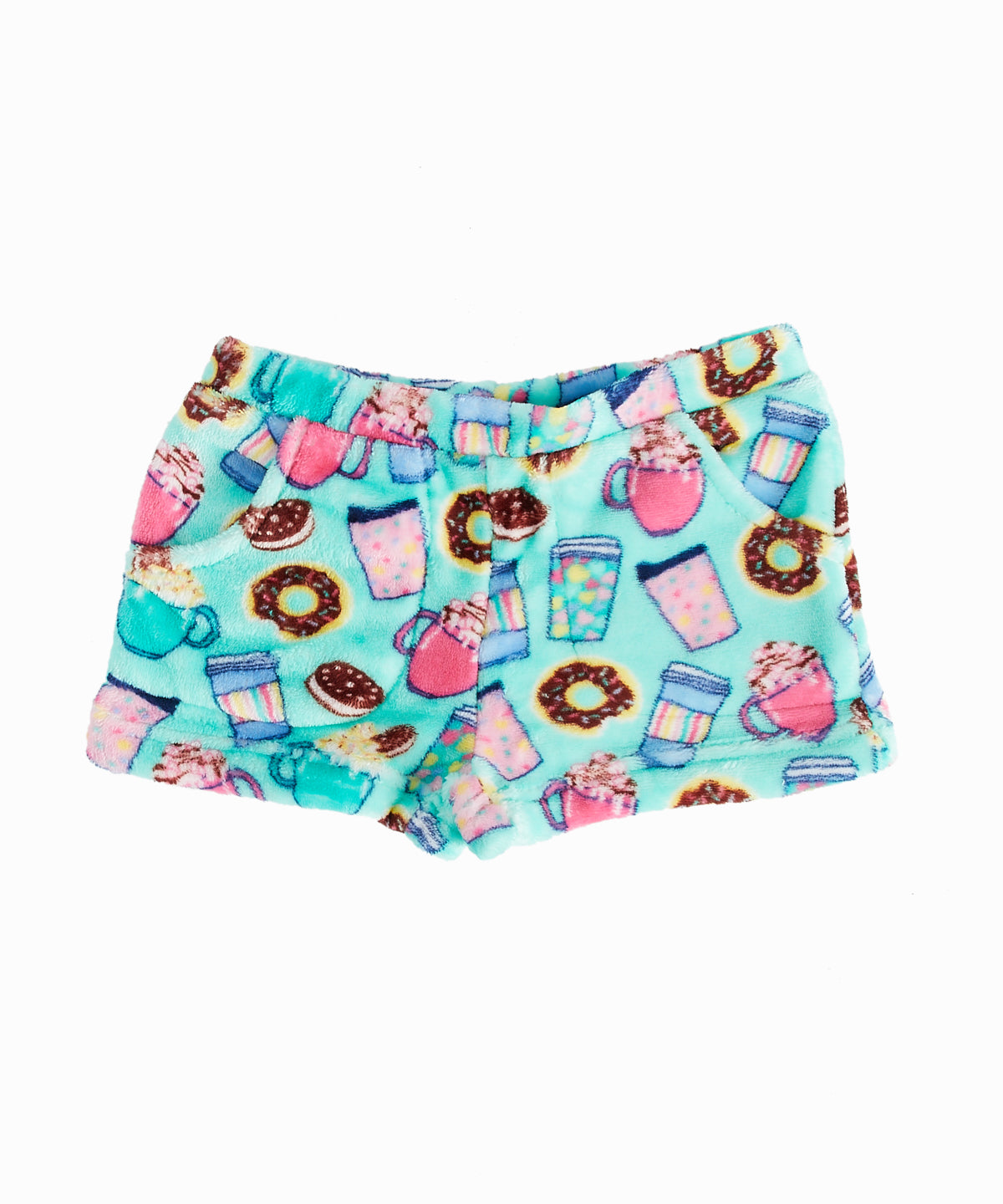 Hot Chocolate Pajama Shorts