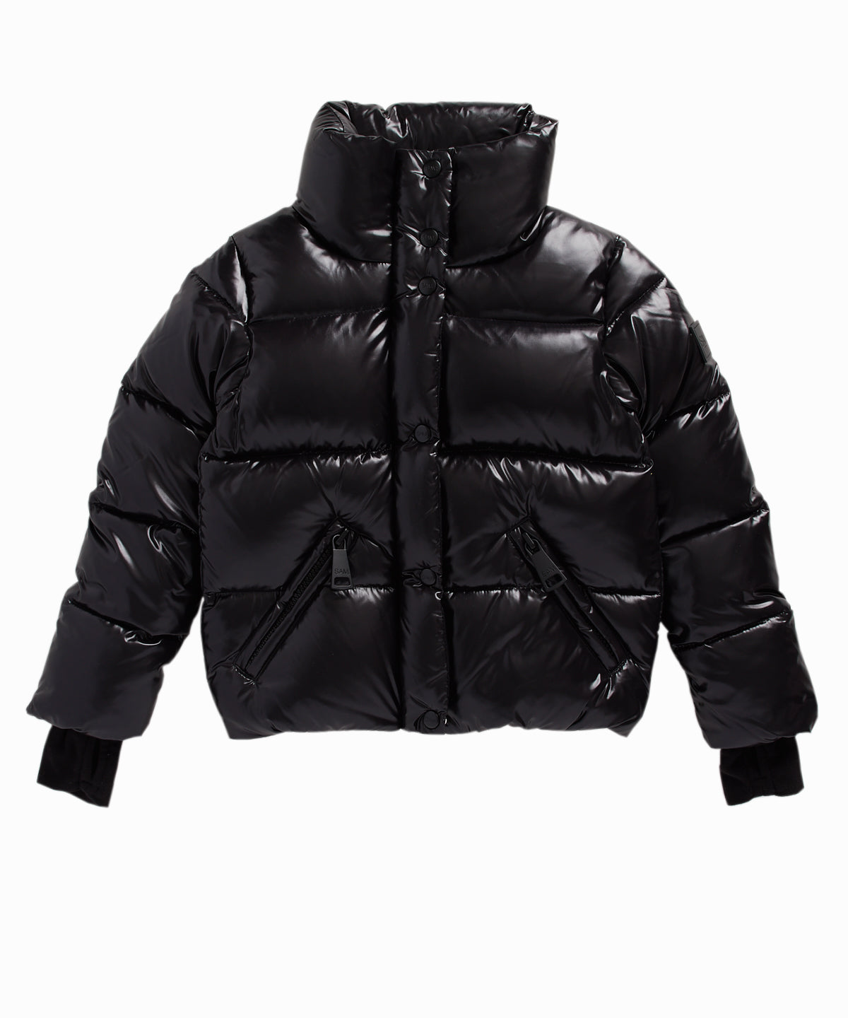 Andi Black Puffer Jacket