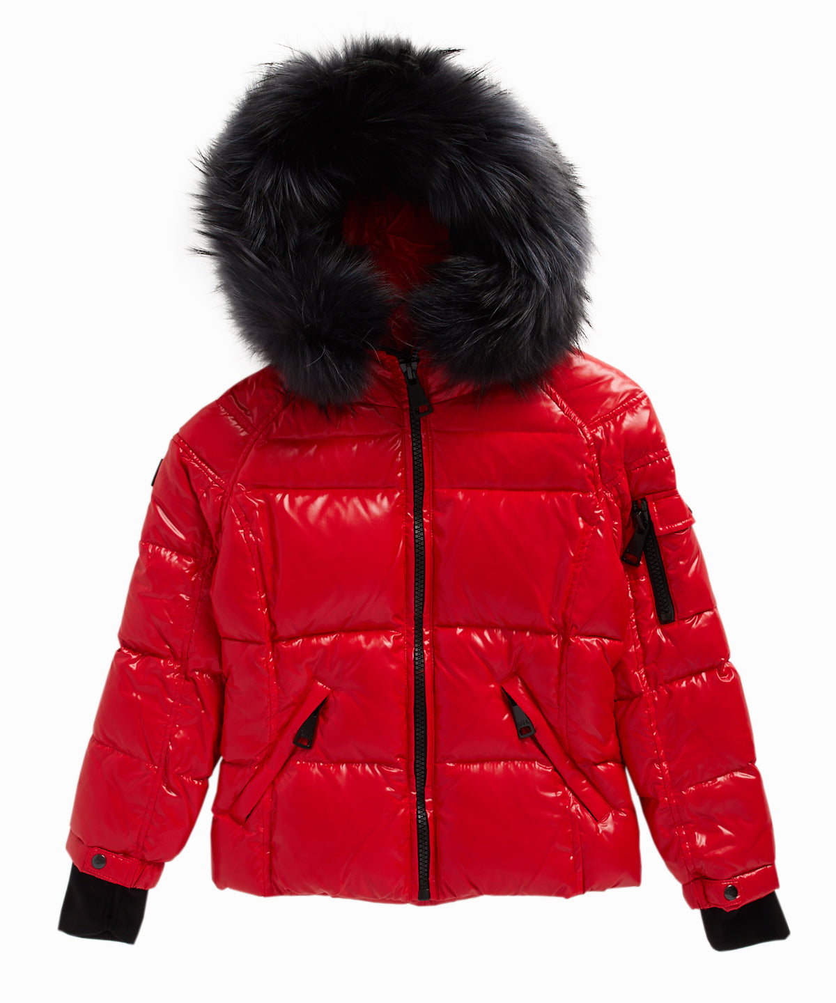 Exclusive Blake Raccoon Fur Trim Puffer Jacket