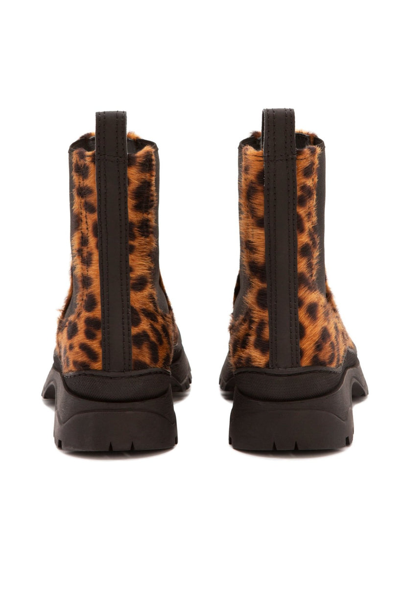 nico / leopard-printed haircalf