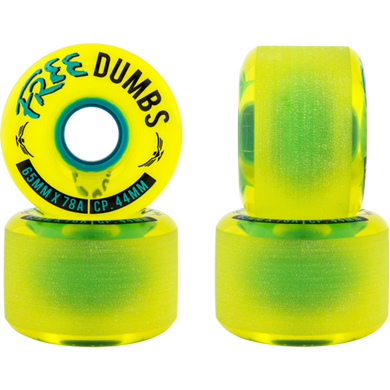 Free Wheel Co. Dumbs 65mm Wheels
