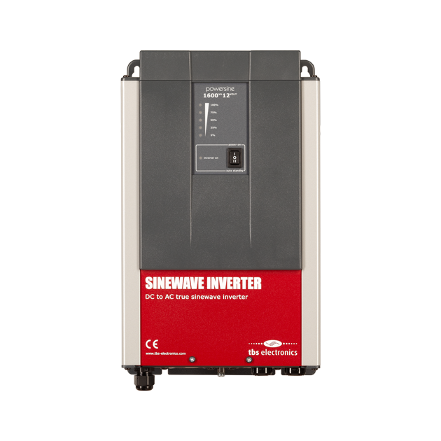 TBS Powersine DC to AC True Sinewave Inverter 24V/1450W - EVolve Electrics