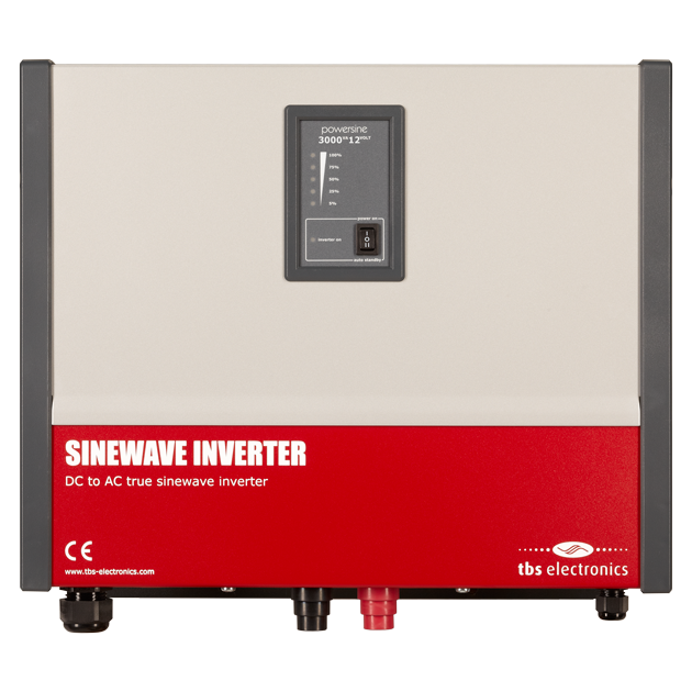 TBS Powersine DC to AC True Sinewave Inverter 48V/3500W - EVolve Electrics