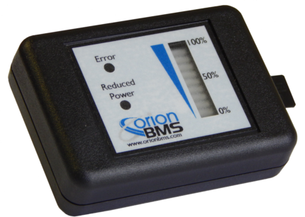 Orion BMS SOC Meter w/ Data Logging