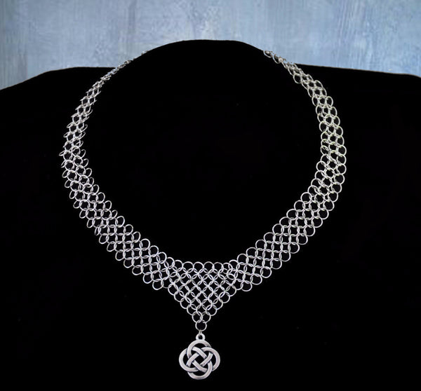 Stainless Steel Chainmaile Necklace