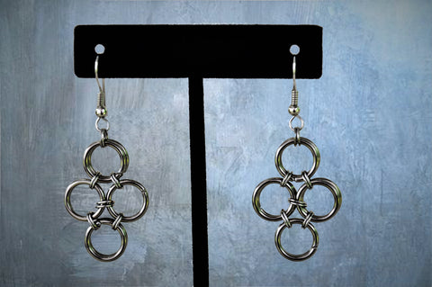Stainless Steel Chainmaile Earrings (ERR10)