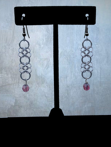 Stainless Steel Chainmaile Earrings (ERR15)