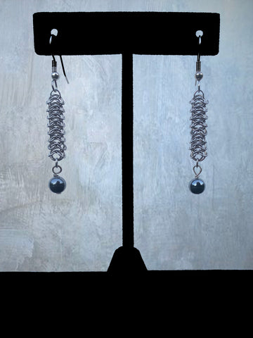 Stainless Steel Chainmaile Earrings (ERR29)