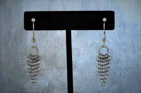 Stainless Steel Chainmaile Earrings (ERR4)