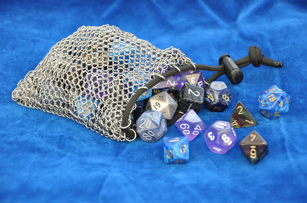 Stainless Steel Dice Bag/Pouch