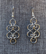Stainless Steel Celtic Lace Earrings