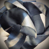 Silk satin ribbon - slate
