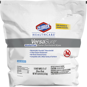 Clorox® Healthcare® VersaSure Cleaner Disinfectant Wipes Refill (110 Wipes)